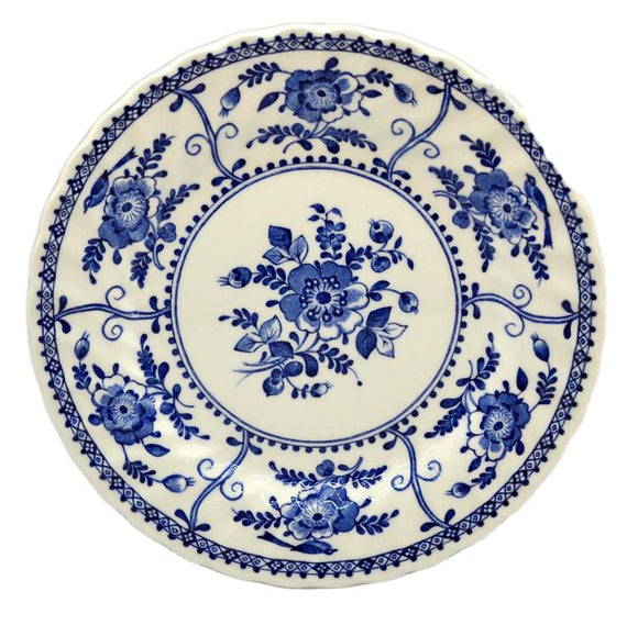 Johnson Brothers Indies Blue and White China Side Plate