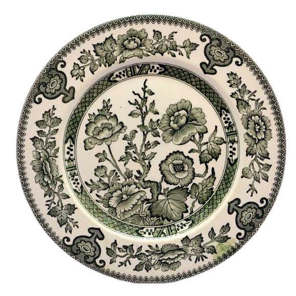 English Ironstone Tableware Indian Tree china plates