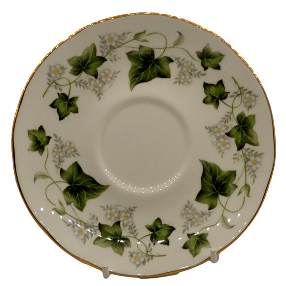 Duchess china saucer Ivy