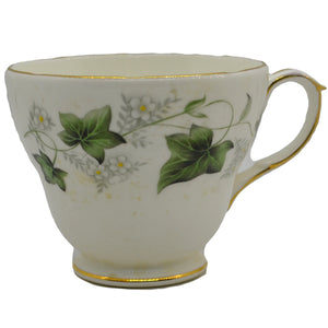 vintage ivy design duchess china teacup