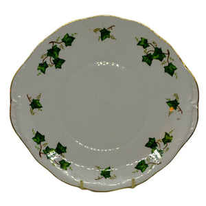 Colclough Ivy Leaf china cake plate