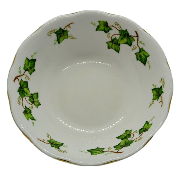 soup bowl ivy leaf colclough