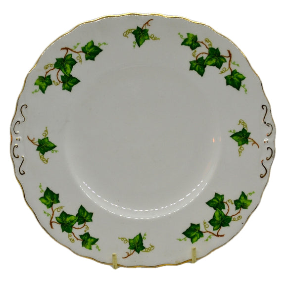 Colclough Ivy Leaf bone china 9 inch square serving plate