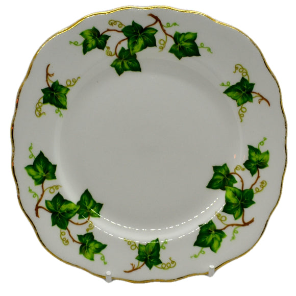 Colclough Ivy Leaf bone china square side plate