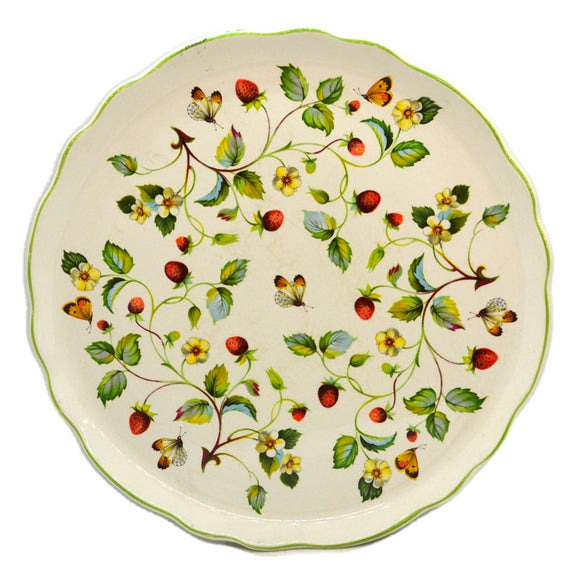 James Kent Old Foley Wild Strawberry & Butterfly Platter