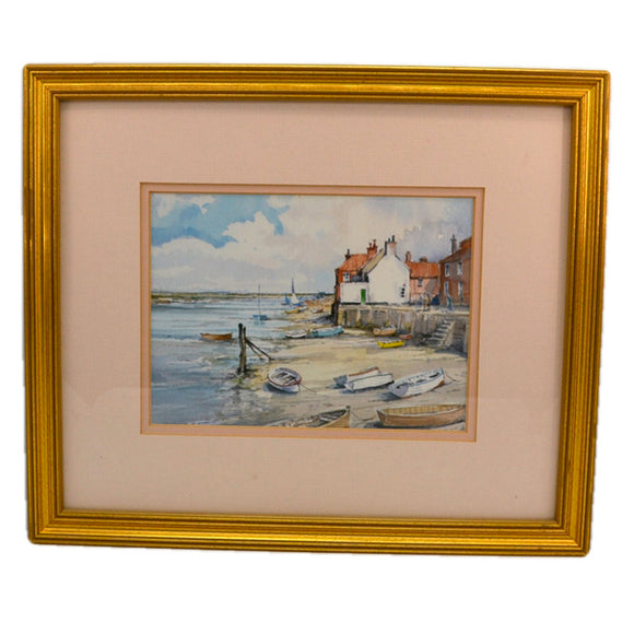 Jason Partner Framed Print of Wells East Quay Norfolk