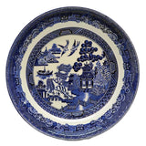 Johnson Bros Blue and White china Old Willow cereal bowl