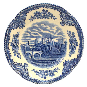 Johnson brothers china bowl norwich castle in 1792