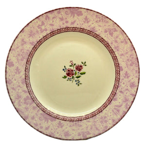 Johnson Brothers China Rose Damask Dinner Plate