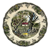 Johnson Brothers Friendly Village The Stone Wall plates