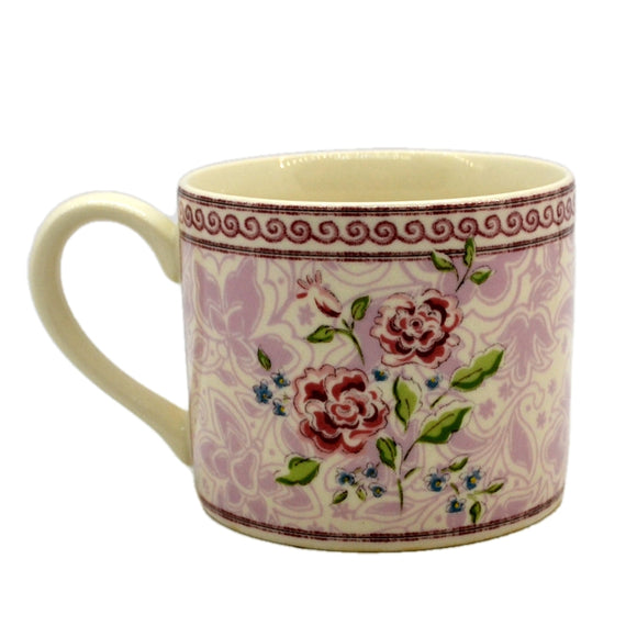 Johnson Brothers China Rose Damask Mugs