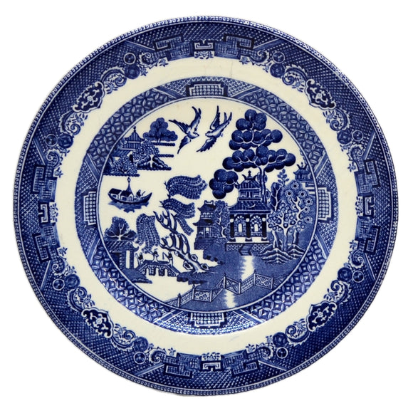 Johnson Brothers Blue and White 7 inch China Willow Side Plate