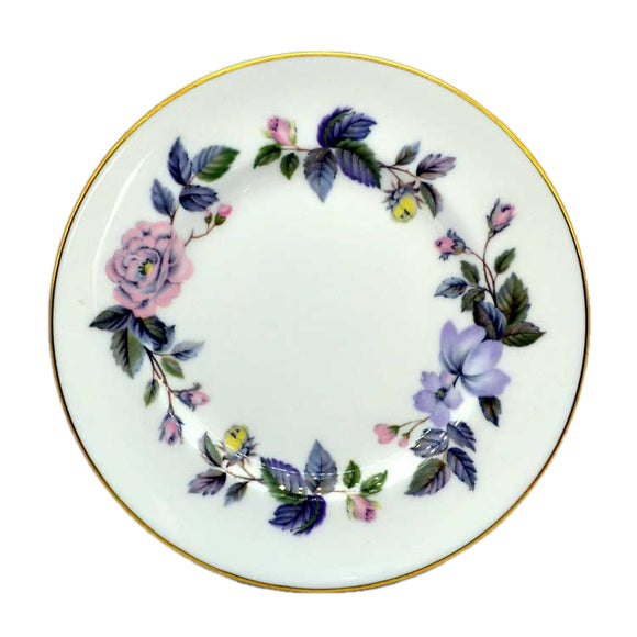 royal worcester june garland side plates