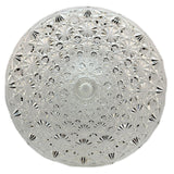 Large English Pressed Glass Cake Stand or Tazza