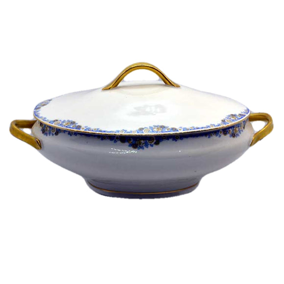 MLV Limoges china tureen