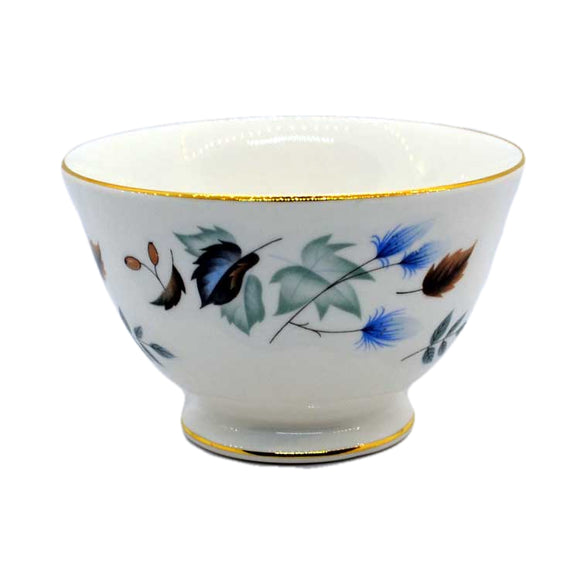 Colclough Linden china sugar bowl