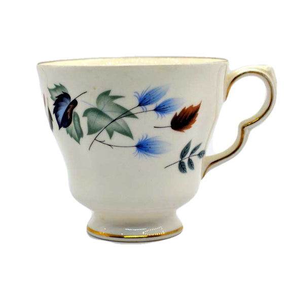 colclough linden D shape teacup