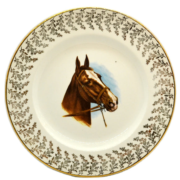 Liverpool Rd Pottery Equestrian Plate
