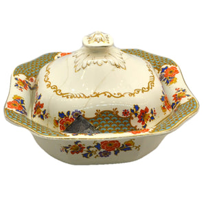 Damaged Losol Ware Keeling and Co pattern 5519 Serving Tureen 1929-1930