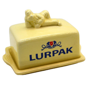 Vintage China Lurpak Butter Dish