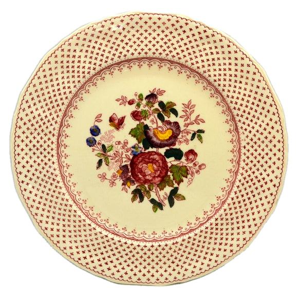 Masons Paynsley Pattern Red and White China side Plate