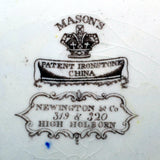 rare masons china marks