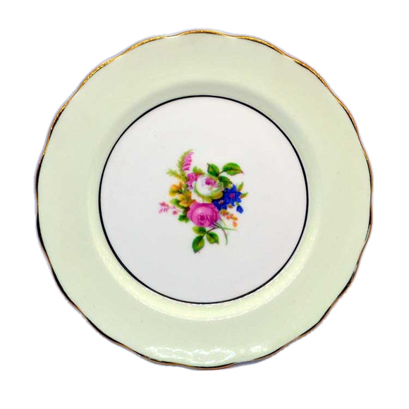 Melba pattern floral china side plates
