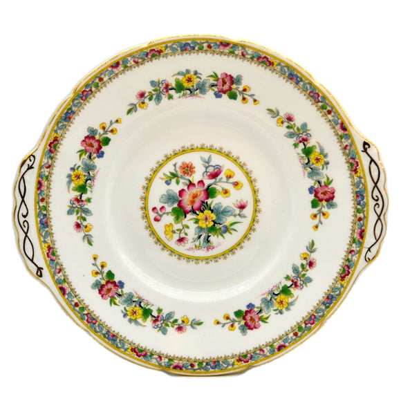 Coalport China Ming Rose Cake Plate