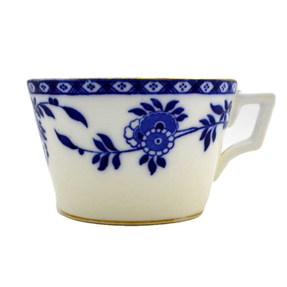 Antique Minton China Blue Delft Coffee Can 1871
