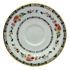 Royal Doulton China Mosaic Garden TC1120 saucer