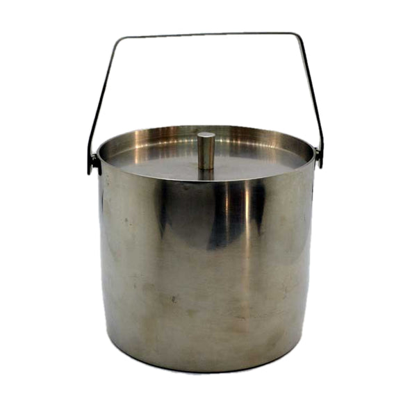 Modernist inox 18/8 steel ice bucket