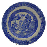 Myott Son & Co Willow blue and white side plate