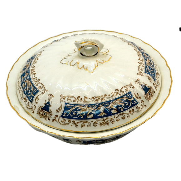 Myott China Rialto Blue Serving Dish