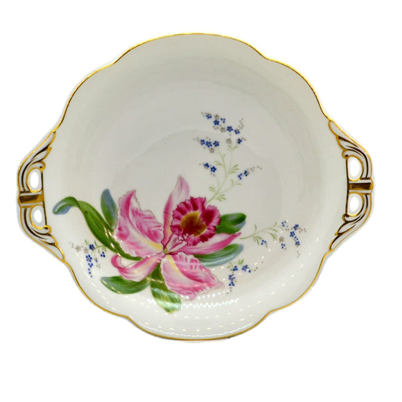 Antique Noritake Floral China Bowl
