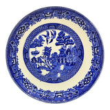 Old Willow Blue and White china pattern 9-inch plate