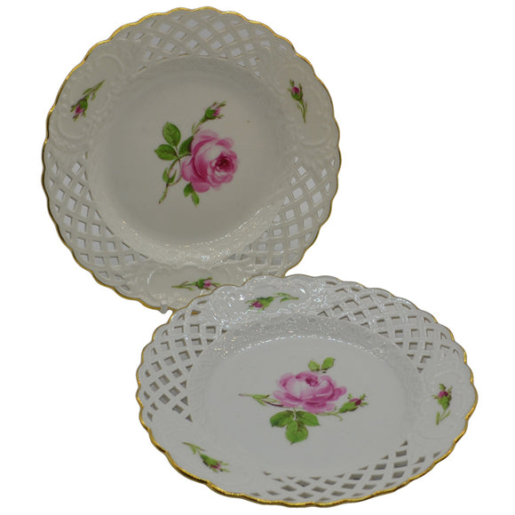 antique continental china collectors plates