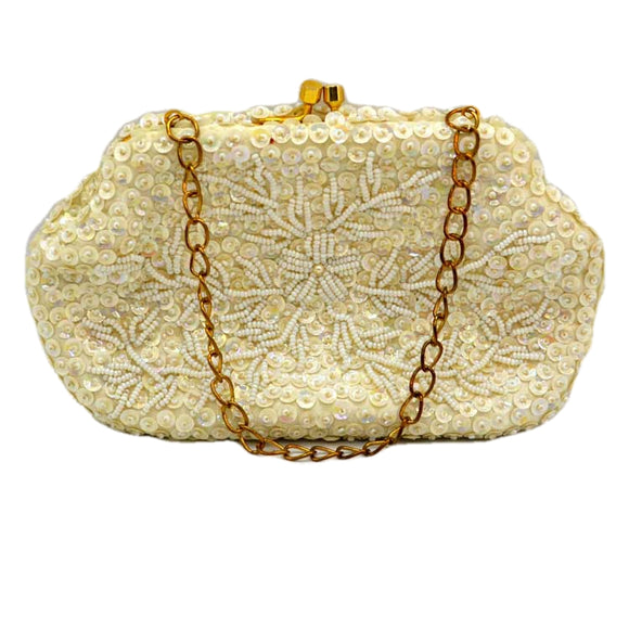 salisburys pandora sequin vintage evening bag