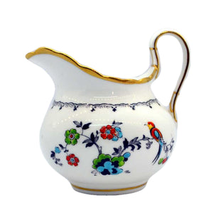 tuscan bone china parrot milk jug