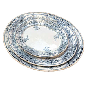 Antique keeling and co china platter set