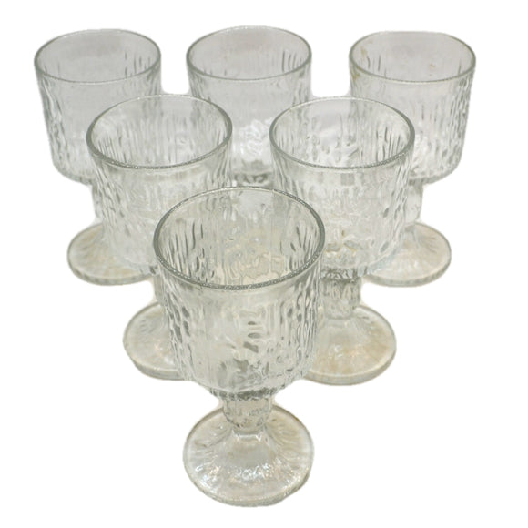 Set of Six Ravenhead Siesta Wine Goblets