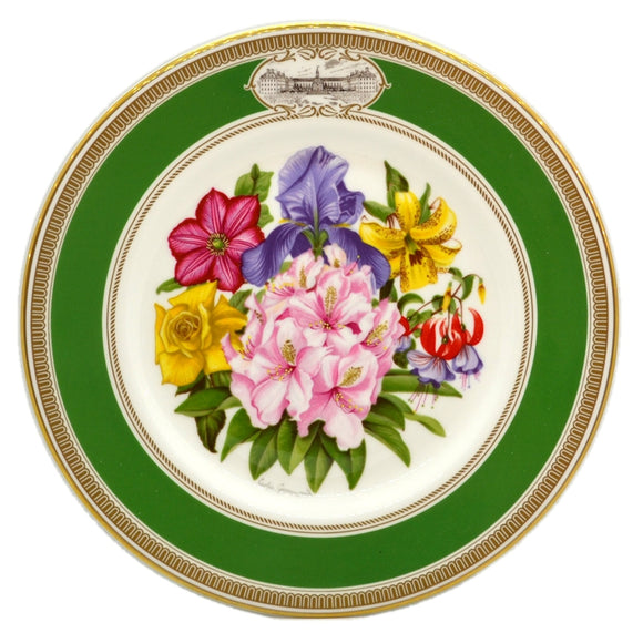 RHS Chelsea Flower Show Royal Doulton China Plate-1981