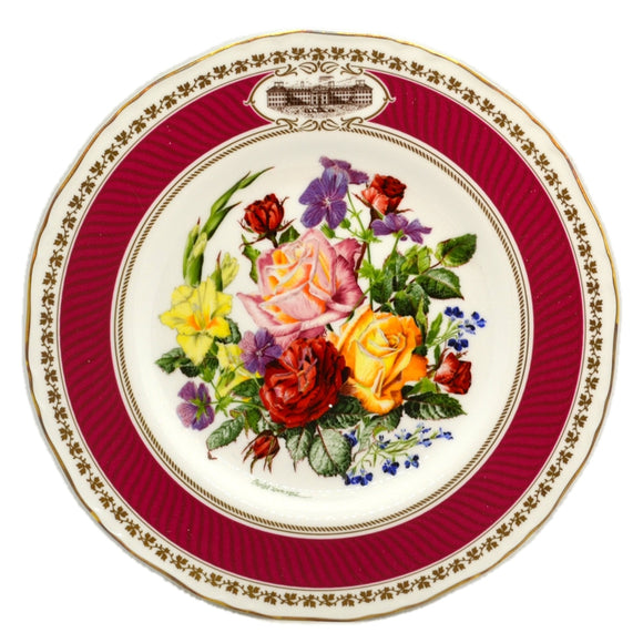 RHS Chelsea Flower Show Royal Worcester China Plate-1982