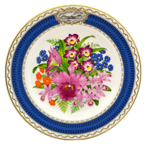 RHS Chelsea Flower Show Spode China Plate-1985