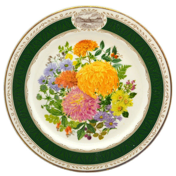 RHS Chelsea Flower Show Royal Grafton China Plate-1989