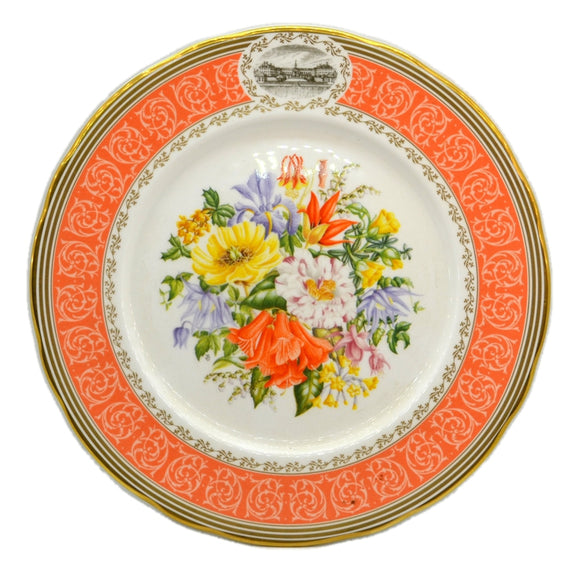 RHS Chelsea Flower Show Elizabethan China Plate-1992