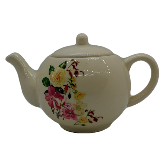 RHS Floral China Teapot