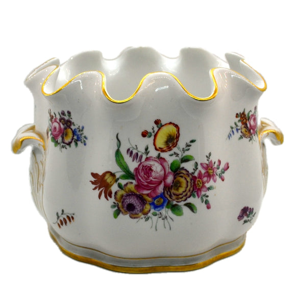 Magnificent Richard Ginori Pittoria Italy Floral China Jardiniere