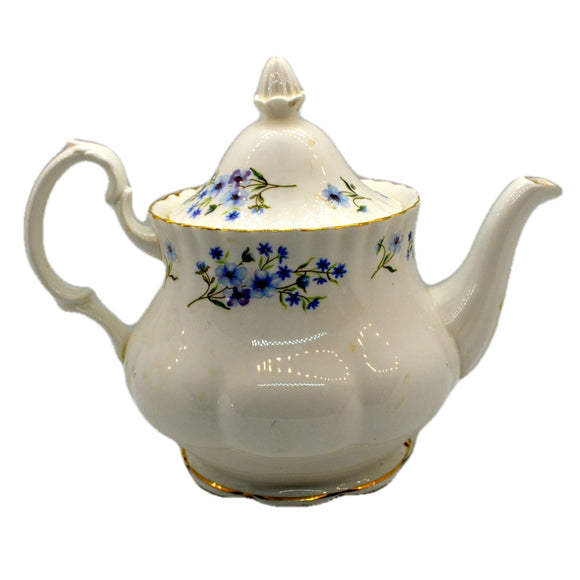 Richmond China Blue Rock Large Teapot