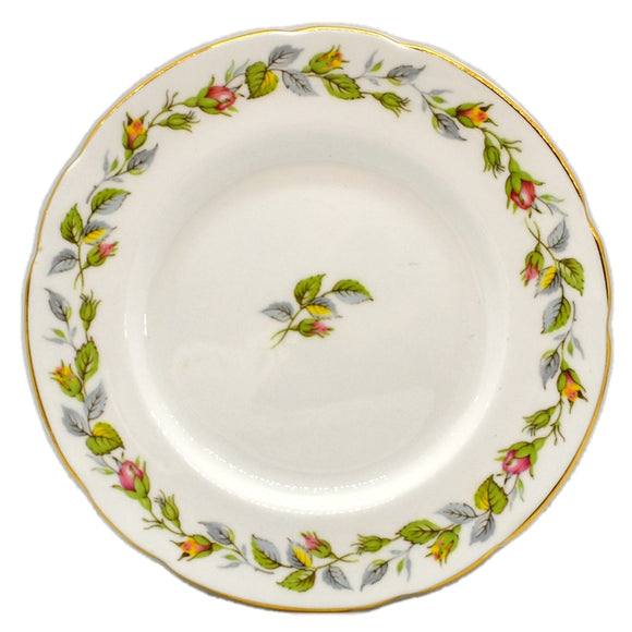 Paragon Bone China Rose Bud Garland Side Plate