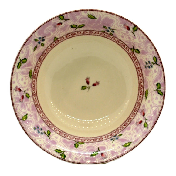 Johnson Brothers China Rose Damask Cereal or Dessert Bowl